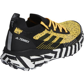 adidas TERREX Two Ultra Parley Hardloopschoenen Heren, sogold/core black/footwear white